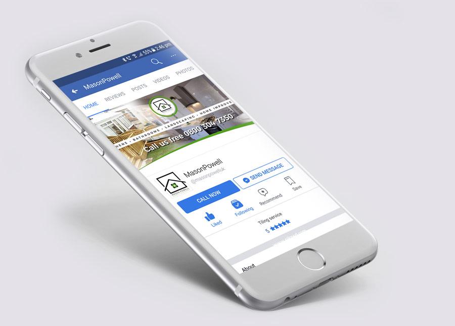 Social media profile design services   HM Designs